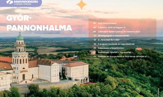 Letölthető a Győr-Pannonhalma új desztinációs kiadvány