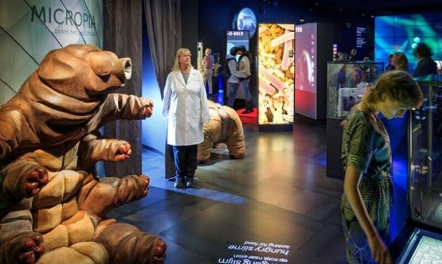 Micropia: a láthatatlan élőlények múzeuma