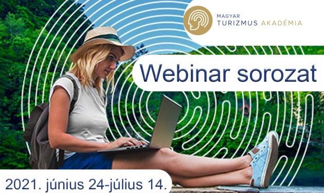 Még lehet regisztrálni a Magyar Turizmus Akadémia nyári webinarjaira