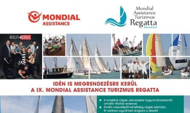 IX. Mondial Assistance Turizmus Regatta - szeptember 7.