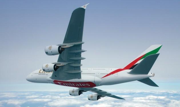 Újból repülnek az Emirates A380-as óriásgépei