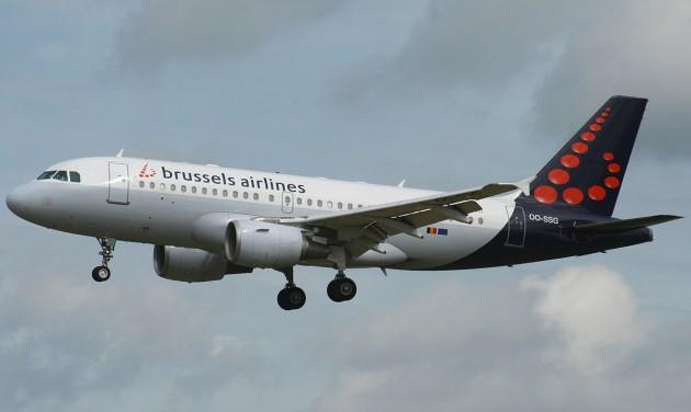 Február 13-án nem indulnak Brussels Airlines járatok
