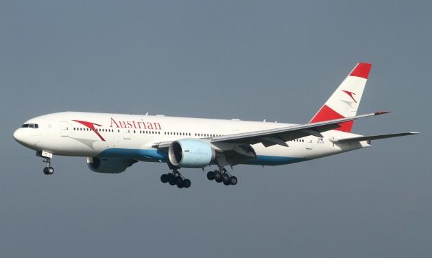 Több hosszú távú járatát törli az Austrian Airlines
