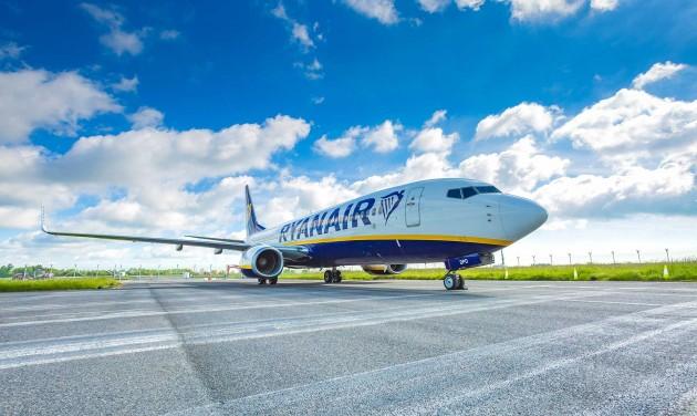 Július elsejétől napi ezer járattal robbant a Ryanair