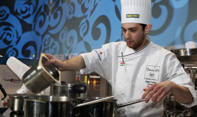 Hétfőn főz Pohner Ádám Torinóban
