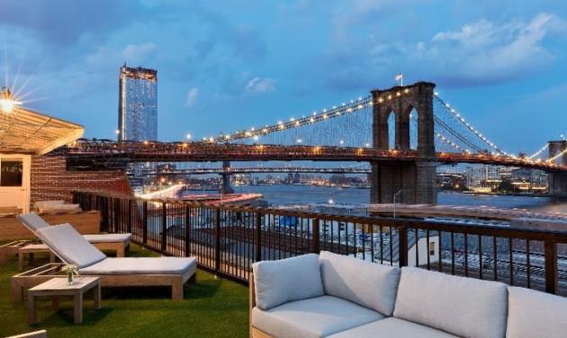 Izgalmas szállodák New Yorkban