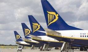 A Ryanair forgalma nőtt a legjobban októberben