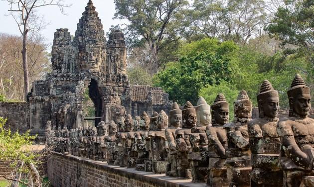 Turistarekord Angkorban
