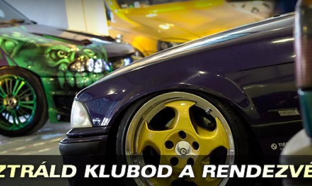 Automobil és Tuning Show március 24-én