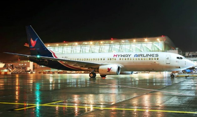 Feltámadt a MyWay Airlines