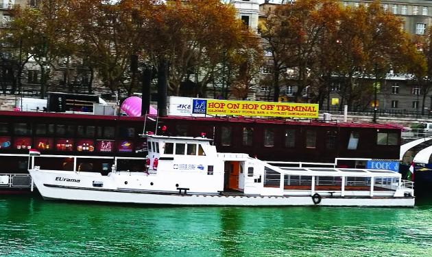 Megújult a Dock 8a EUrama városnéző hajója
