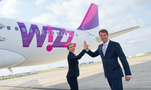 Átvette az ötvenedik Airbus A320-as repülőgépét a Wizz Air