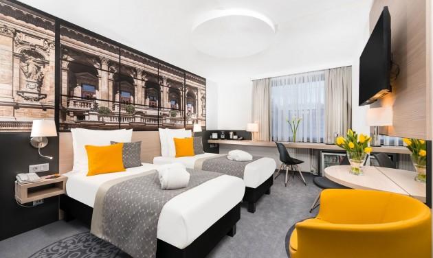 Megújult szobák a Mercure Budapestben