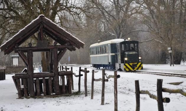 Indul az erdei vonat Gemencen