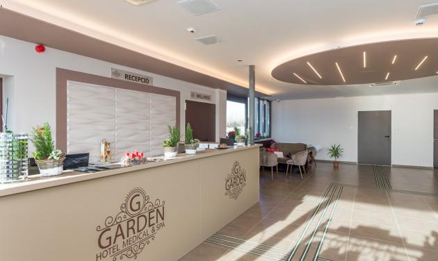 Megnyílt a Garden Hotel Medical & Spa**** Debrecenben