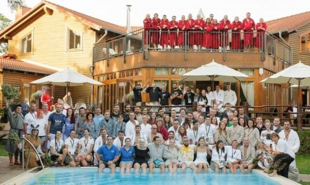 Szaunamesterek világbajnoksága magyar résztvevőkkel