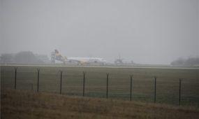 Nem találtak bombát a Ferihegyen átvizsgált utasszállító repülőn