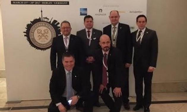 Hat magyar volt a berlini Aranykulcs Kongresszuson
