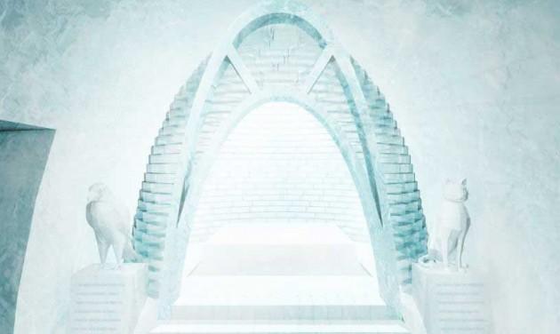 Elkészültek az Ice Hotel idei tervei