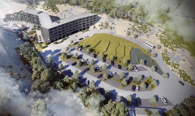 2022 tavaszára készülhet el Tokaj új ötcsillagos szállodája