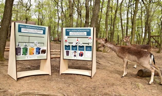 Rekordévet zár a Budakeszi Vadaspark