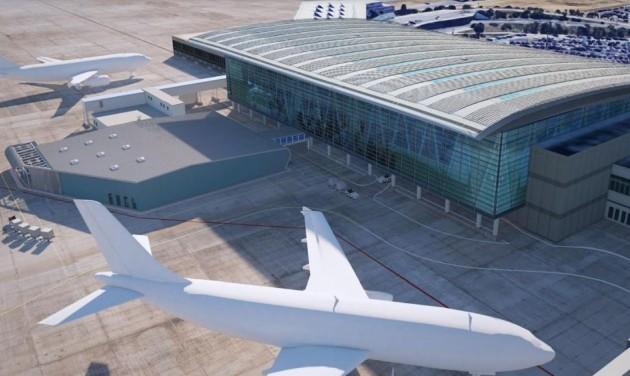 Új poggyászosztályozó csarnok épül a repülőtéren