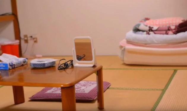 Kukkoló japán szálloda, ahol egy dollárért lakhatsz – videó