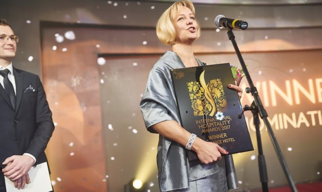 Magyar szállodákat díjaztak Kijevben