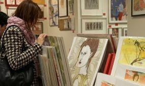 Bécs: Egyedi műalkotások a bevásárlókocsiban