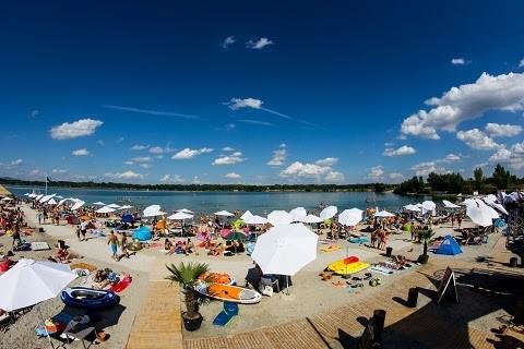 A hétvégén nyílik a Lupa-tó