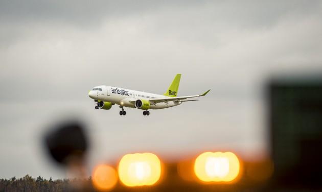 Mínuszban zárta a tavalyi évet az airBaltic is