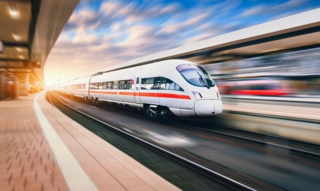 Nagysebességű vasúti hálózat épül Angliában