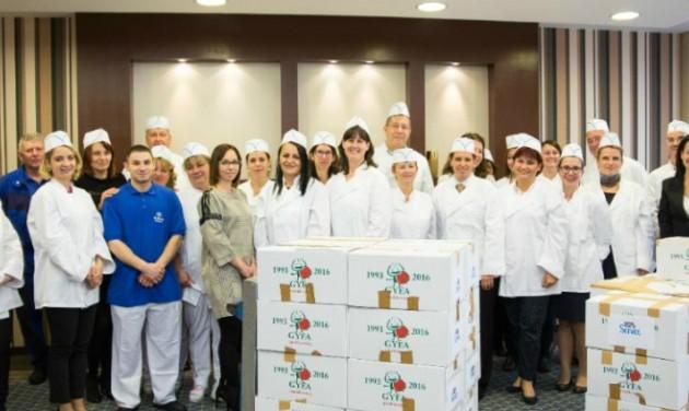 Rászoruló gyerekeken segített a Hilton Budapest