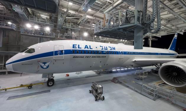 Retró gépet mutatott be az EL AL