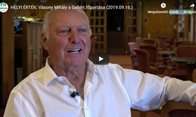 Aki 76 évéből 58-at a Gellértben dolgozott – videó