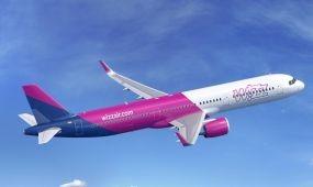 Forgalomba állította első Airbus A321-esét a Wizz Air