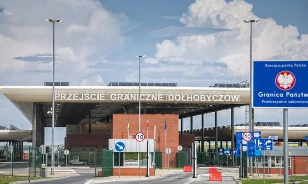 Ideiglenesen visszaállítja a határellenőrzést Lengyelország