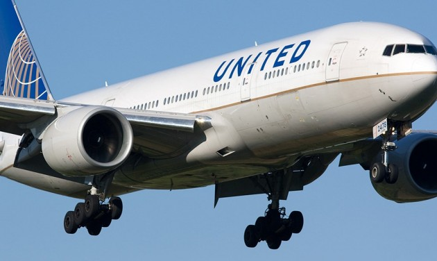 Filmbe illő jelenet a United járatán