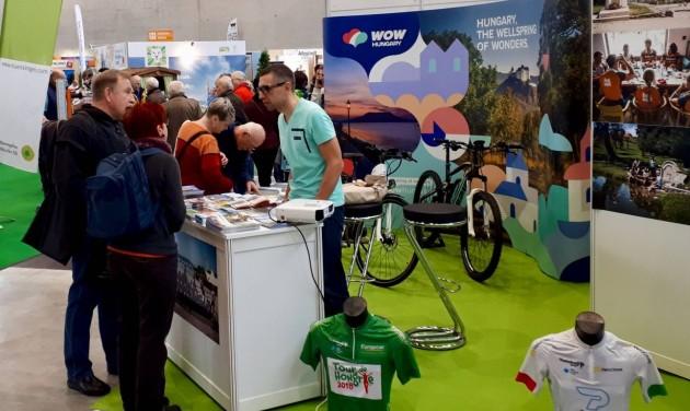 Magyar kerékpárosok Stuttgartban