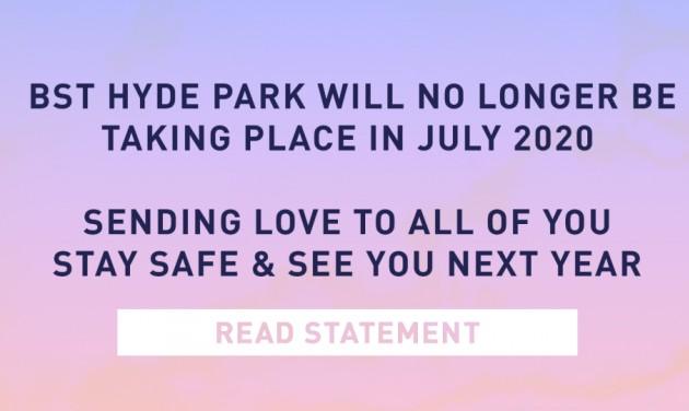 Júliusi londoni fesztivált mondtak le a szervezők