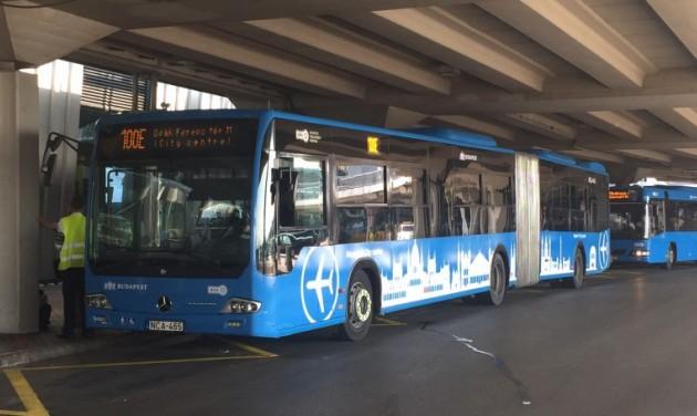 Sűrűbben jár a reptéri busz