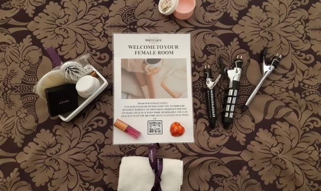 Szállodai szoba csak hölgyeknek a Mercure Budapest Koronában