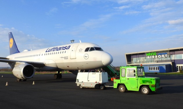 Támogatást kapott a Hévíz-Balaton Airport