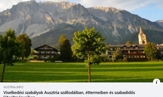 Biztonsági tudnivalók az Ausztriába készülőknek