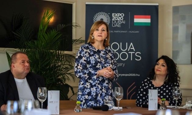 Ezt kóstolhatják a Dubaji Világkiállítás Magyar Pavilonjának látogatói