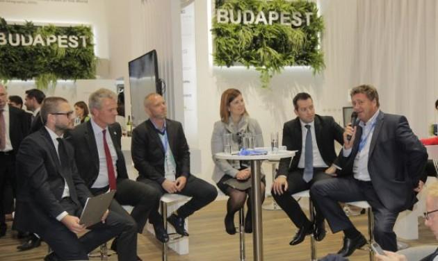 Turisztikai kerekasztal az Expo Real 2016 Budapest standján