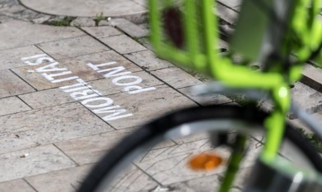 Közösségi mobilitási pont nyílt a fővárosi Szent Gellért téren