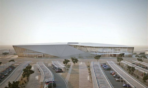 Hamarosan megnyílik az új reptér Eilaton