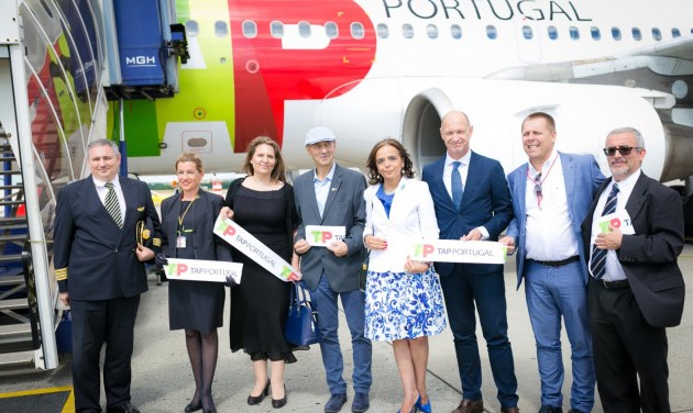Heti hét járattal tért vissza a TAP Portugal