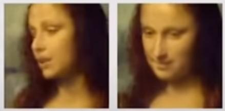 Mona Lisa már nem csak mosolyog: beszél és grimaszol
